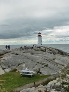 Peggy's Cove ist der meistbesuchte Leuchtturm Kanadas