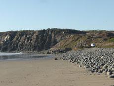 ... am Strand von Marmol
