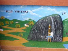 ... hatte es der Erstbesteiger Villegas deutlich schwerer