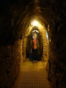 Ein 8 km langes Tunnelsystem durchzieht die Pyramide Tepanapa