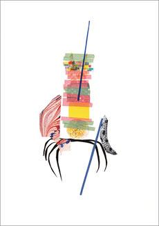 Oktopussy, 2013, Scherenschnitt, 29,7 x 42 cm