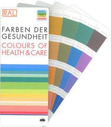 RAL-Farbfächer speziell für die Farben der Gesundheit