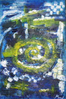 """Westwind"", Öl auf Leinwand, 50 x 70cm"