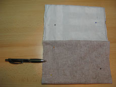 "Herstellung Täschchen ""Längs und quer"", jap. Flechttechnik"