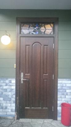 リフォーム 木製ドア 玄関