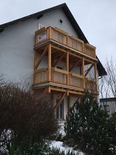 Balkon Scheiblingstein - Klosterneuburg