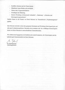 Akademie f. öffentliche Verwaltung Sachsen Fr. Dr. Tischer (Teil 2)