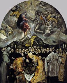 El Greco, Entierro del Señor de Orgaz,1586-88.Óleo sobre lienzo.480x360cm,Iglesia de Sto.Tomé.