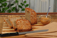 Barley Flake Whole Wheat Bread
