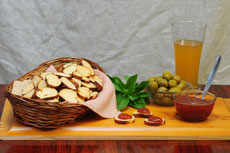 Bread Chips Brezel, Laugenstange