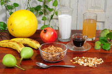Fruit Muesli with Honey