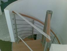Treppenbau Rund