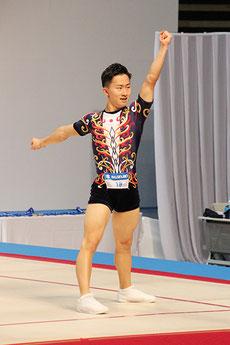 シニア男子シングルで3連覇を達成した斉藤瑞己