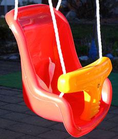 Kleinkinderschaukel, Sitzschaukel, Kleinkindschaukel, Hudora Kleinkindschaukel