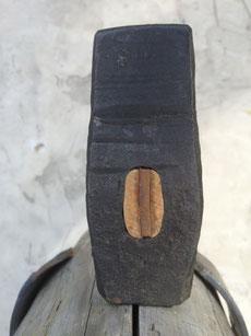 Handhammer, 930g, Eschenstiel mit Nussholzkeil