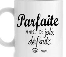 mug ou tasse avec texte