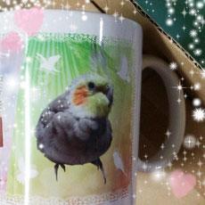 オーダーメイドマグカップ 写真