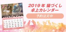 2019 猫づくし卓上カレンダー