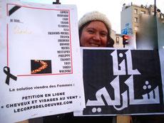 Belle rencontre à la manifestation du 11 janvier 2015