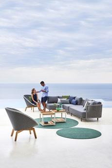 Momentes Garten-Lounge von Cane-line