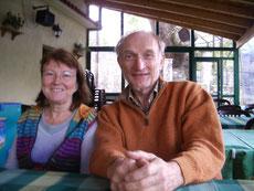 Ihre Vermieter: Irmgard und Peter