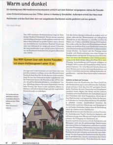 Bericht im Magazin Bauhandwerk zum Thema Dämmung