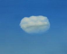 Kleine Wolke, 40 x 50 cm, Öl auf Leinwand, 2012
