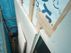 木造耐火の外壁施工2