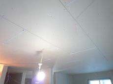 天井を耐火被覆しています2