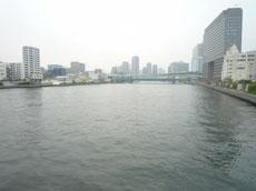 清洲橋からの風景