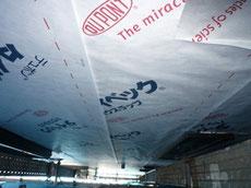 透湿防水シートの施工1