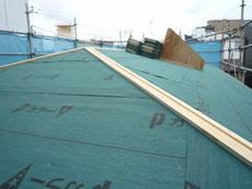 素敵なガルバリウム屋根葺き1