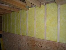 床下断熱材の施工1