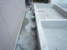中央区の外部給排水工事4
