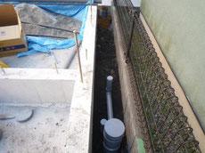 中央区の外部給排水工事3