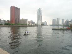 勝鬨橋からの眺め