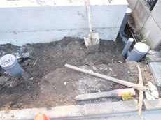 屋外給排水工事画像