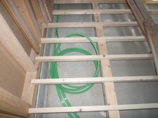 床暖配管工事2