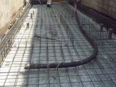 基礎コンクリート1