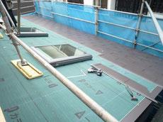 素敵なガルバリウム屋根葺き2
