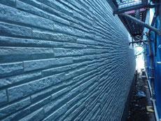台東区のサイディングの施工画像