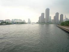 永代橋からの眺め