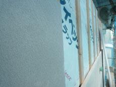 木造耐火の外壁施工1