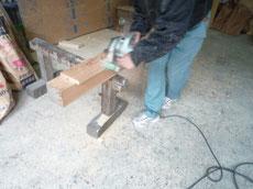 杉の造作材加工1