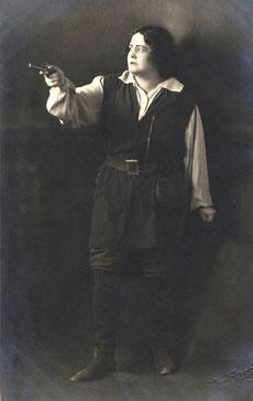 Hedy Brügelmann als Leonore, Karlsruhe