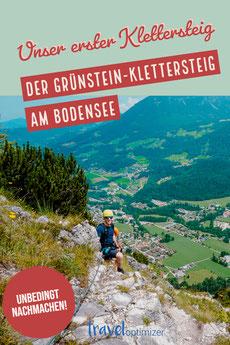 Der Gründstein Klettersteig am Königssee für Anfänger