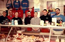 Das Team der Fleischerei Oppen