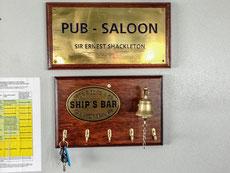 Unsere Bar ist ein Pub - Saloon