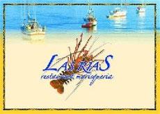 Alquiler de vacaciones en Tossa de Mar, trajeta del restaurante Las Rías, donde comer en Tossa de Mar