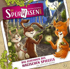 CD Cover Die Spürhasen-Bande Teil 1